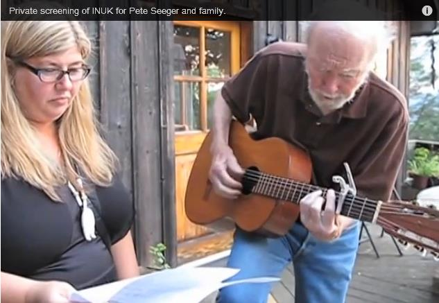 Pete Seeger and Ann