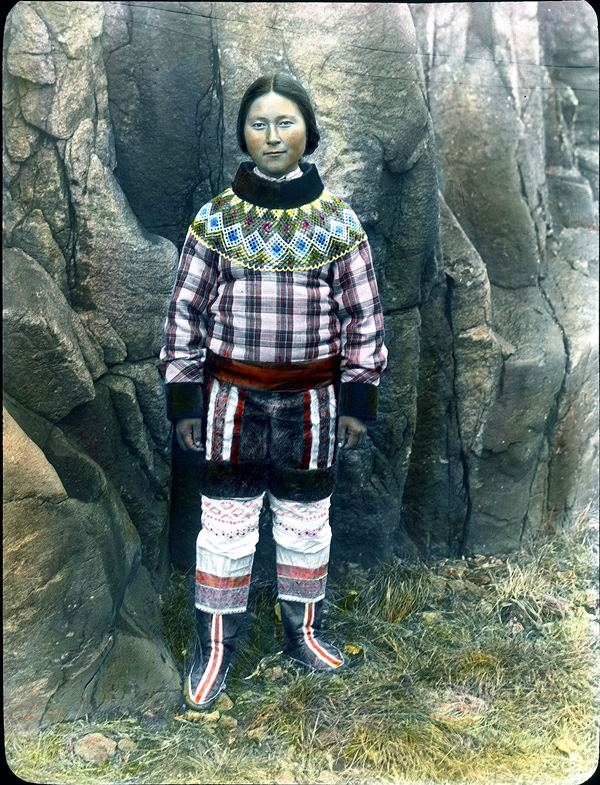 Karen from Uummannaq was an indispensable carrier and cook for de Quervain's expedition